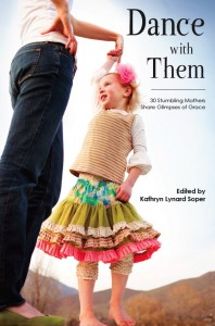 book cover shows daughter dancing with mother