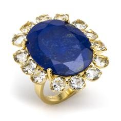 Lapis Lazuli ring o' love