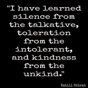 i have learned - kahlil gibran